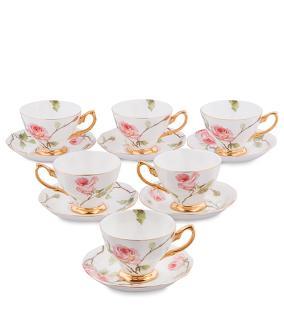 """Чайный сервиз """"Нежные розы"""" (на 6 персон) от 8 500 руб"""