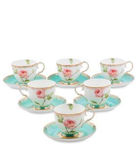 """Чайный сервиз """"Дикая роза"""" от 9 350 руб"""