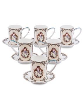"""Чайный сервиз """"Магдаленна"""", (на 6 персон) от 7 750 руб"""