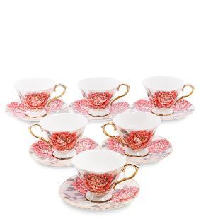 """Чайный сервиз """"Астры"""", (на 6 персон) от 7 100 руб"""