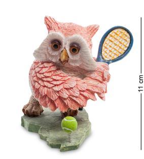 Фигурка Розовая сова-теннисистка от 890 руб