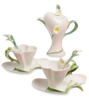 """Чайный набор """"Цветочный миг"""" (на 2 персоны) от 3 590 руб"""