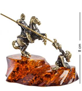 Фигурка Георгий Победоносец (янтарь) от 5 600 руб
