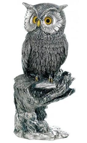 """Серебряная скульптура """"Мудрая сова"""" от 11 790 руб"""