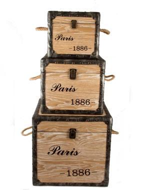 """Набор из трех сундуков """"Paris 1886"""" от 10 550 руб"""