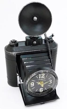 """Настольные часы из металла """"Фотоаппарат"""" от 2 950 руб"""