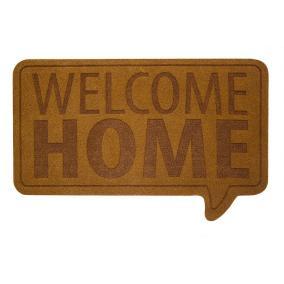 """Коврик придверный Balvi """"Welcome Home"""", коричневый от 1 400 руб"""