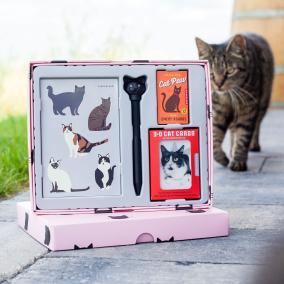 """Канцелярский набор """"Cat Lovers Gift Set"""" от 2 490 руб"""