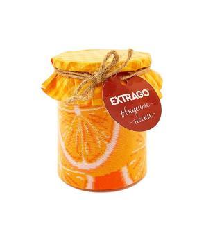 Набор носков Extrago Баночка варенья (апельсин-голубика), 2 пары, р. 40-44 от 750 руб