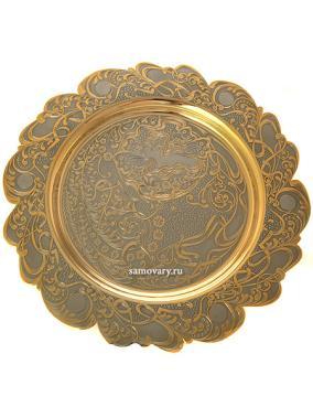 Блюдо круглое 28 см, Златоуст от 28 900 руб