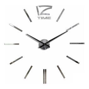 Большие 3D часы самоклеющиеся зеркальные от 1 644 руб