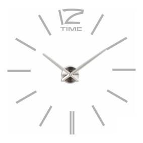 Большие 3D часы самоклеющиеся, серые от 1 644 руб