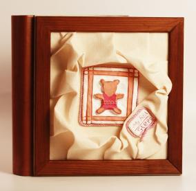 """Фотоальбом для новорожденной девочки """"Orso argilla"""" от 21 500 руб"""