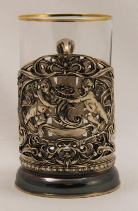 Набор для чая с подстаканником Рог изобилия от 8 800 руб