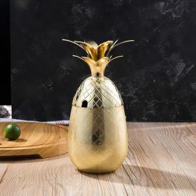 Бокал для коктейлей «Ананас» золотой, 700 мл от 3 050 руб