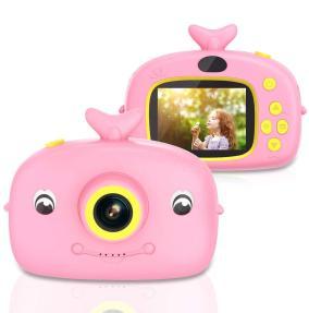 Детский цифровой фотоаппарат X12A Dolphin (розовый) от 1 554 руб