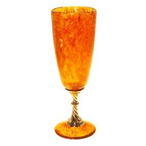 Бокал для шампанского из янтаря, 150 мл. от 12 325 руб