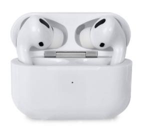 Беспроводные Bluetooth-наушники с зарядным кейсом Macaron OG Pro глянцевые (Белый) от 1 240 руб