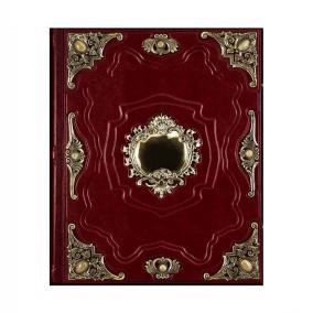"""Родословная книга """"Ювелирная"""" (дерево, экокожа, бронза, яшма) от 22 500 руб"""