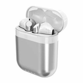 Беспроводные Bluetooth-наушники с зарядным кейсом Music Apollo TWS-R7 (Серебро) от 3 180 руб