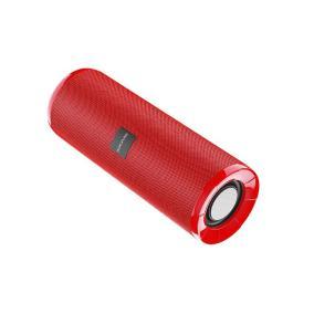 Влагозащитная колонка IPX5 Bluetooth Borofone BR1 с радио FM, порты AUX, TF, режим TWS, звонки (красный) от 980 руб