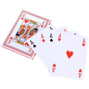 Игральные карты, гигантские от 390 руб