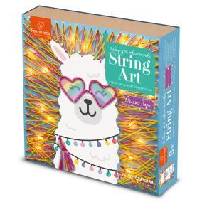 Набор для творчества Стринг Арт с гирляндой Диско Лама от 990 руб