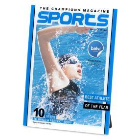 "Фоторамка ""Журнал Sports"" от 750 руб"
