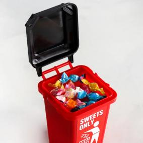 "Леденцы в мусорке ""Sweets only"" от 350 руб"