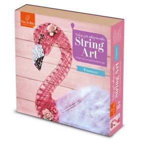 Набор для творчества Стринг Арт Фламинго от 990 руб