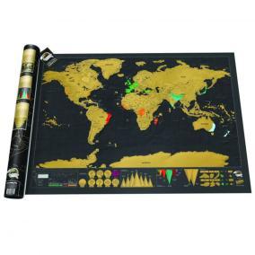 Скретч-карта мира Deluxe Edition (на английском) от 650 руб