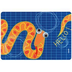 Коврик сервировочный Hello змея (детский) от 340 руб