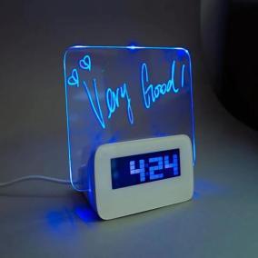 """Часы """"Доска для записей"""" с USB-хабом от 1 250 руб"""