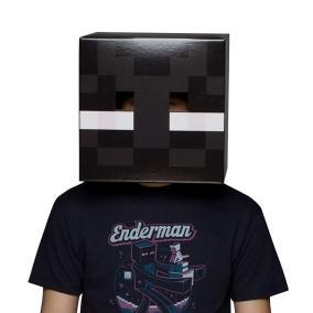 Маска Голова Эндермена Minecraft от 850 руб