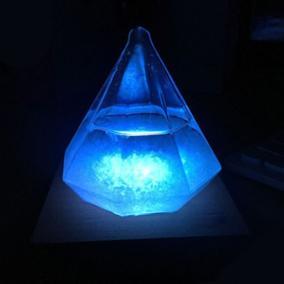 Штормгласс «Tempo Сrystal» с подсветкой от 2 490 руб