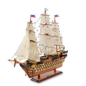 """Модель российского линейного корабля 1841г. """"12 Апостолов"""" от 21 000 руб"""