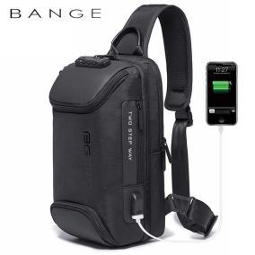 Однолямочный рюкзак с USB портом и кодовым замком Extent (black) от 3 390 руб