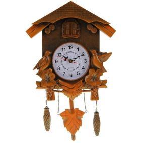 """Часы настенные с маятником и кукушкой """"Лесные трели"""" от 3 450 руб"""