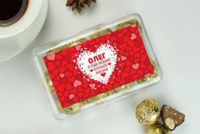 """Именной набор конфет """"Люблю больше жизни"""" от 490 руб"""