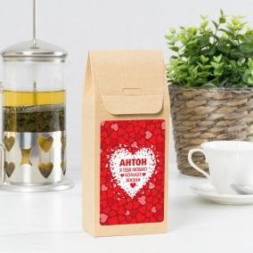 """Чай именной """"Люблю больше жизни"""" от 390 руб"""