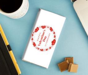 """Именная сладкая открытка """"Happy Valentine's Day"""" от 295 руб"""