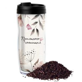 Чай в термостакане с Вашим текстом «Нежность» от 1 290 руб