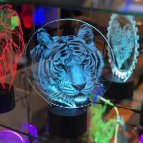 3D светильник «Бенгальский тигр» от 1 690 руб