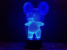 3D светильник «Коала» от 1 690 руб