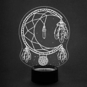 3D светильник «Ловец снов 2» от 1 890 руб