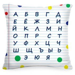 Подушка-алфавит «Тетрадь» от 1 460 руб