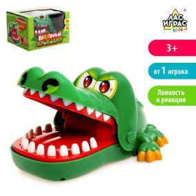 """Настольная игра """"Зубастый крокодил"""" от 550 руб"""