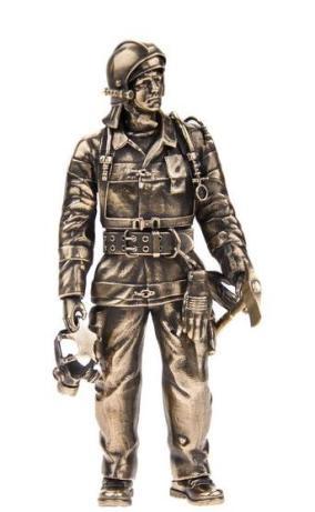 """Бронзовая статуэтка """"Пожарный МЧС"""" от 16 000 руб"""