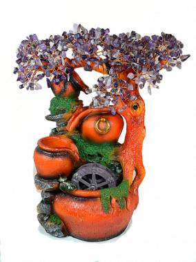 Фонтан дерево счастья с аметистом от 9 250 руб