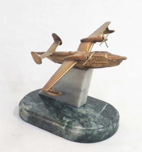 """Бронзовый сувенир """"Самолет"""" от 6 500 руб"""